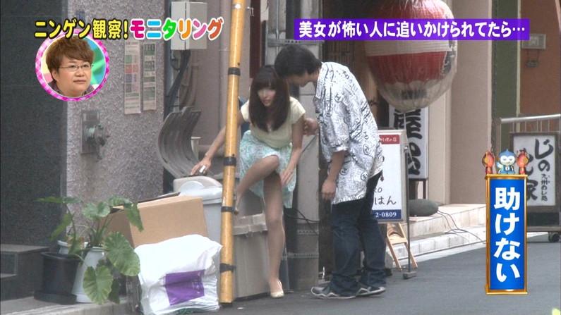 【パンチラキャプ画像】思いっきりパンツ見えてるのに編集でも隠してもらえなかった女性タレント達ww 01