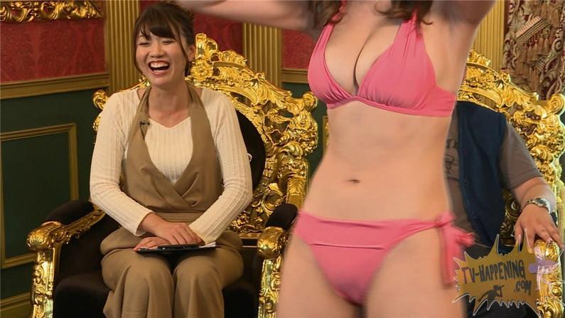【お宝エロ画像】ケンコバのバコバコTVで美女達がロデオマシーン乗りながらエロい事させられてたww 49