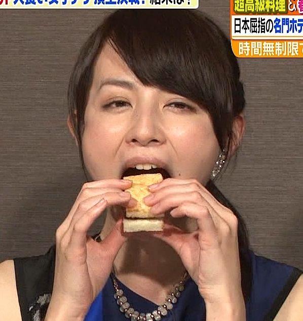 【擬似フェラキャプ画像】食レポしてるタレント達の顔ってなんでこんなに卑猥に見えるんだろう?ww 11