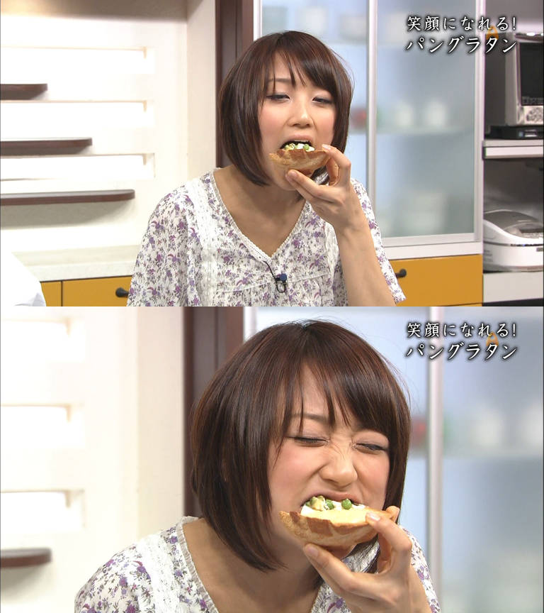【擬似フェラキャプ画像】食レポしてるタレント達の顔ってなんでこんなに卑猥に見えるんだろう?ww 15