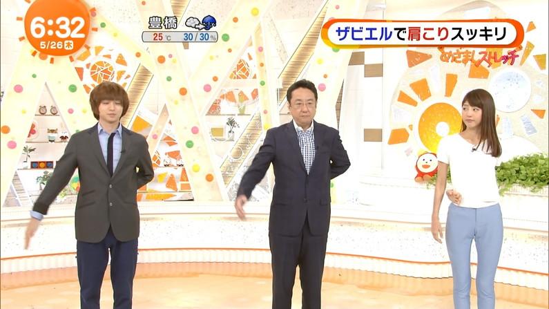 【マン筋キャプ画像】テレビでマンコの割れ目がくっきり分かっちゃったww 05