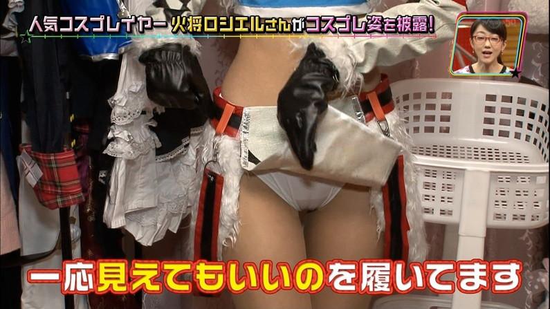 【マン筋キャプ画像】テレビでマンコの割れ目がくっきり分かっちゃったww 10