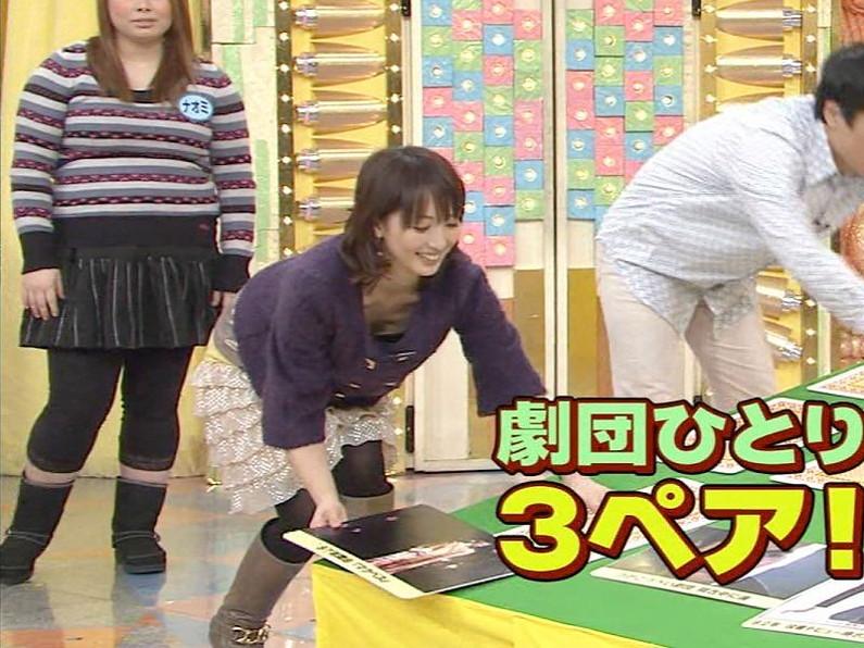 【胸ちらキャプ画像】タレントさん達のたわわなオッパイががっつりテレビに映ってますよーwww 05