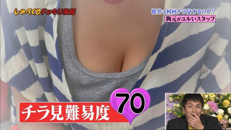 【胸ちらキャプ画像】タレントさん達のたわわなオッパイががっつりテレビに映ってますよーwww 09