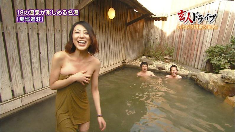 【温泉キャプ画像】もっと温泉に行こうに匹敵するほどのエロ番組、橋本マナミのお背中流しましょうか!がポロリ狙いすぎてワロタww(その他画像あり) 12