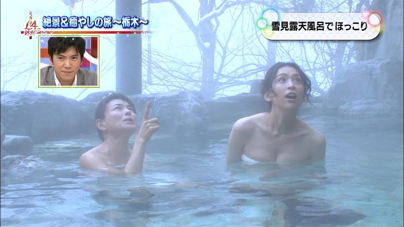 【温泉キャプ画像】もっと温泉に行こうに匹敵するほどのエロ番組、橋本マナミのお背中流しましょうか!がポロリ狙いすぎてワロタww(その他画像あり) 16