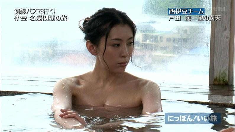 【温泉キャプ画像】もっと温泉に行こうに匹敵するほどのエロ番組、橋本マナミのお背中流しましょうか!がポロリ狙いすぎてワロタww(その他画像あり) 23