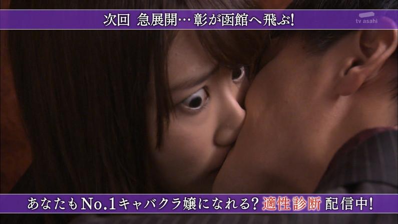 【キスキャプ画像】見てるだけでこっちがドキドキしちゃうタレントのキス顔やキスシーンww 18
