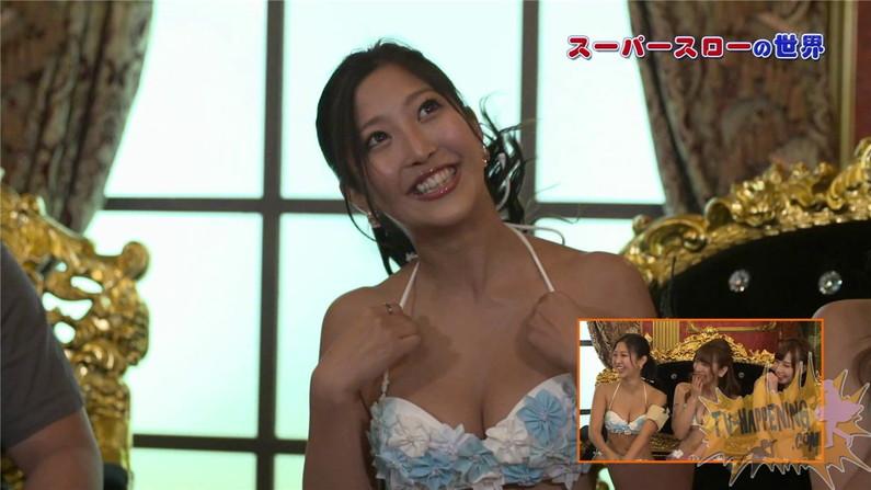 【お宝エロ画像】ケンコバのバコバコTVで美女の水着がやばい事になってるww