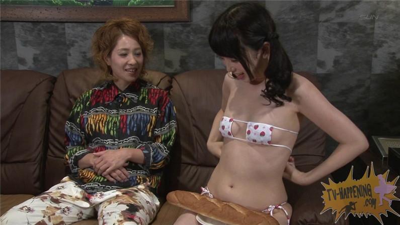 【お宝エロ画像】ケンコバのバコバコTVで美女の水着がやばい事になってるww 15
