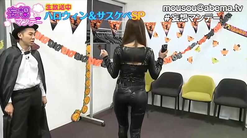 【お尻キャプ画像】女子アナやアイドル達がぴったりパンツ履いてパンツライン見せびらかしてるw 07
