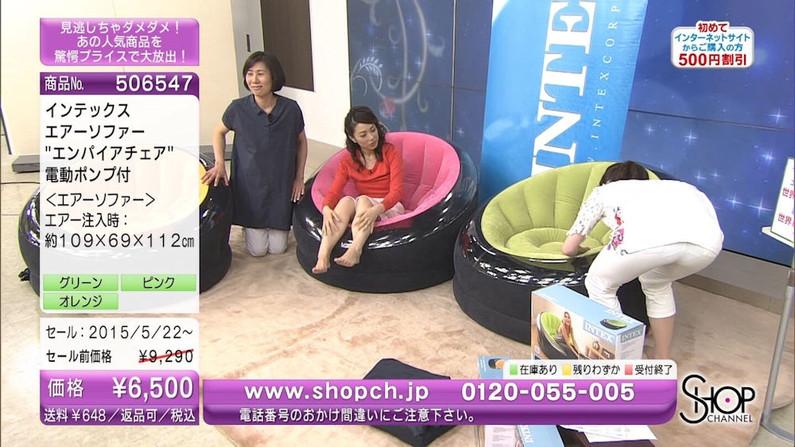 【お尻キャプ画像】女子アナやアイドル達がぴったりパンツ履いてパンツライン見せびらかしてるw 24