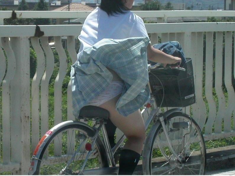 【パンチラ画像】突然の神風でスカートがめくれあがって素人のパンツが露わになる瞬間w
