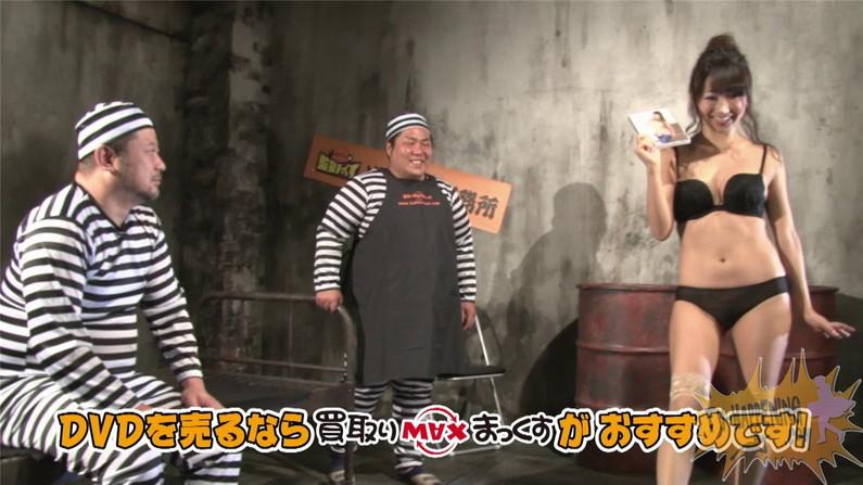 【お宝エロ画像】バコバコTVに出てくるTバックのお尻と巨乳オッパイがエロくてケンコバ羨ましすぎww 44