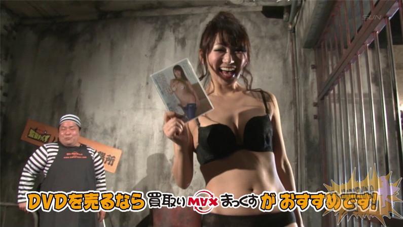 【お宝エロ画像】バコバコTVに出てくるTバックのお尻と巨乳オッパイがエロくてケンコバ羨ましすぎww 45
