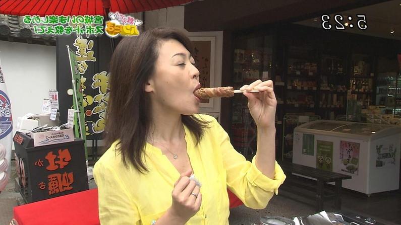 【擬似フェラキャプ画像】食レポしてるタレント達がどう見ても擬似フェラしてるようにしか見えないのは俺だけか?w