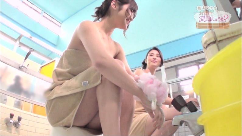 【温泉キャプ画像】色々やばい物が映りそうで毎回ドキドキする橋本マナミのお背中流しましょうか?w