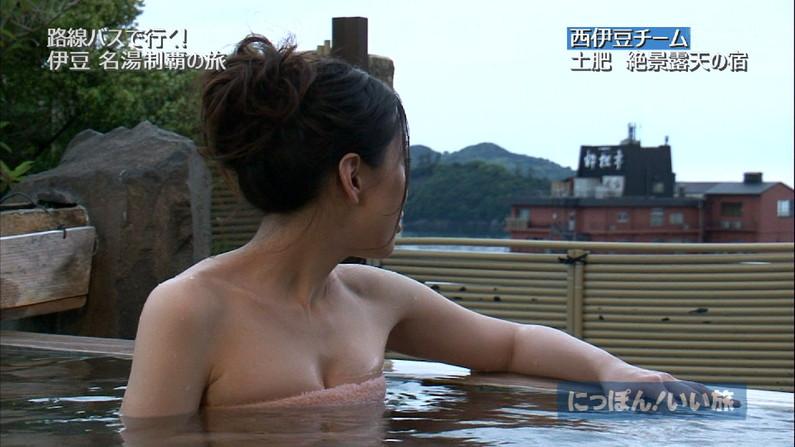 【温泉キャプ画像】色々やばい物が映りそうで毎回ドキドキする橋本マナミのお背中流しましょうか?w 10